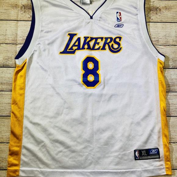 Reebok Shirts & Tops   La Lakers Kobe Bryant 8 Kids Jersey   Poshmark